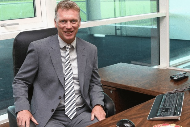 David Moyes in his office